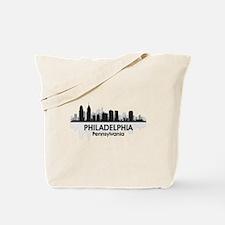 Pennsylvania Philadelphia Skyline Tote Bag