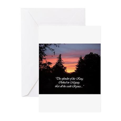 Sunset Splendor Greeting Cards (Pk of 10)