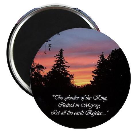"""Sunset Splendor 2.25"""" Magnet (100 pack)"""