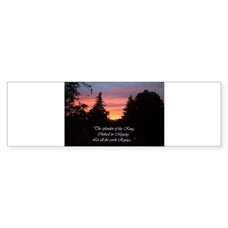 Sunset Splendor Bumper Sticker