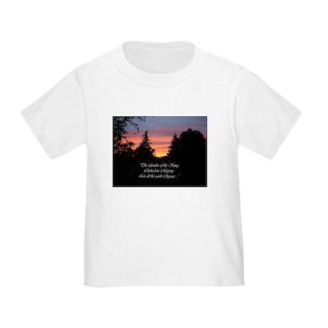 Sunset Splendor Toddler T-Shirt