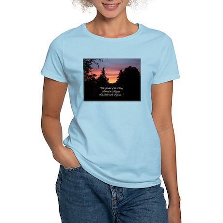 Sunset Splendor Women's Pink T-Shirt