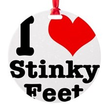 stinky feet.png Ornament