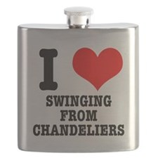 SWINGING FROM CHANDELIERS.png Flask
