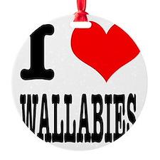 WALLABIES.png Ornament