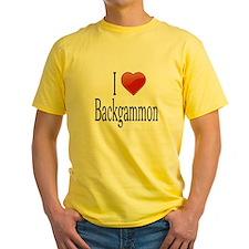 I Love Backgammon T