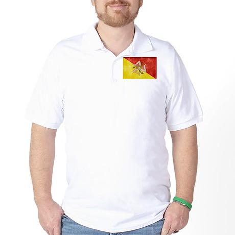Sicily Flag Golf Shirt