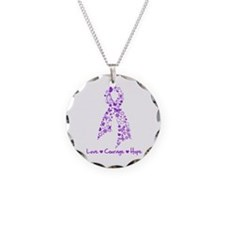 Love Hope Cystic Fibrosis Necklace