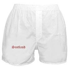 Scotland (Red) - Boxer Shorts