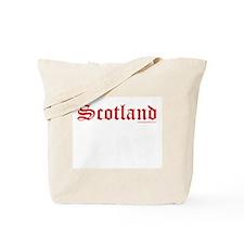 Scotland (Red) - Tote Bag