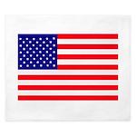 USA flag King Duvet