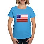 USA flag Women's Dark T-Shirt