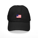 USA flag Black Cap