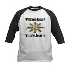 We Demand Respect! Yellow Jackets Tee