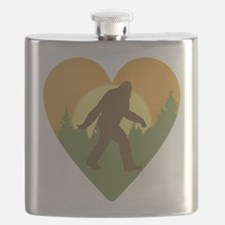 Bigfoot Love Flask
