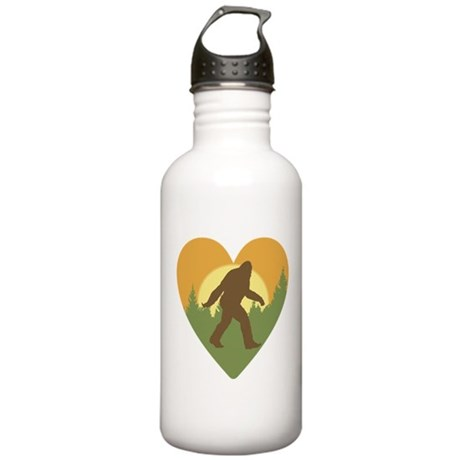 Bigfoot Love Stainless Water Bottle 1.0L