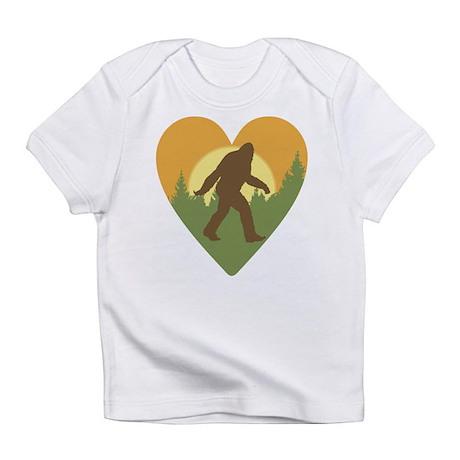 Bigfoot Love Infant T-Shirt