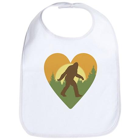 Bigfoot Love Bib