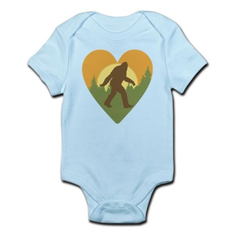 Bigfoot Love Infant Bodysuit