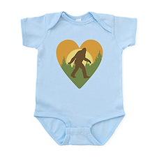 Bigfoot Love Infant Bodysuit