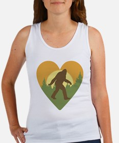 Bigfoot Love Women's Tank Top