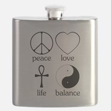 Peace Love Life Balance square II.png Flask