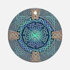 Celtic Eye of the World Ornament (Round)