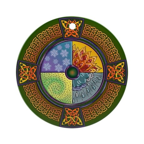 Celtic Elements Ornament (Round)