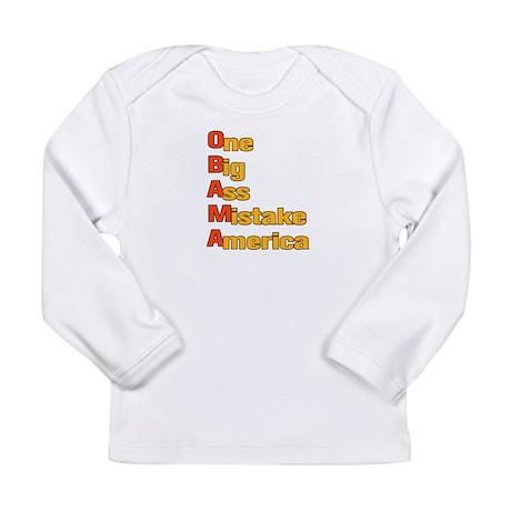 Anti Obama Long Sleeve Infant T-Shirt