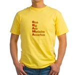 Anti Obama Yellow T-Shirt