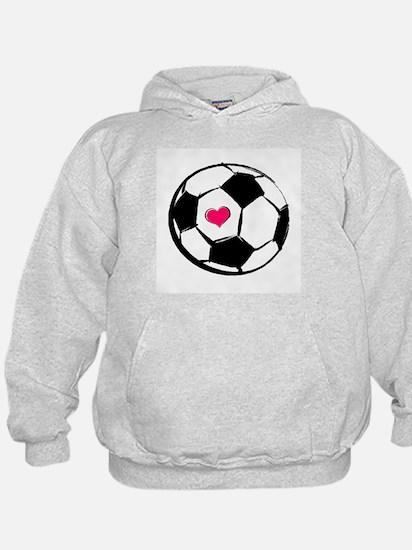 Soccer Heart Hoody