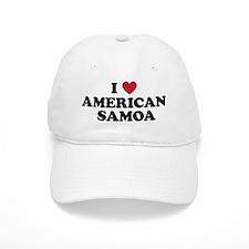 I Love American Samoa Baseball Cap