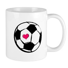 Soccer Heart Mug