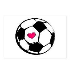 Soccer Heart Postcards (Package of 8)