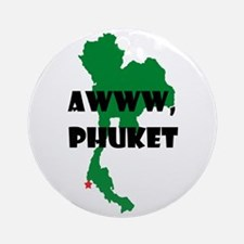 Phuket Round Ornament