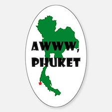 Phuket Sticker (oval)