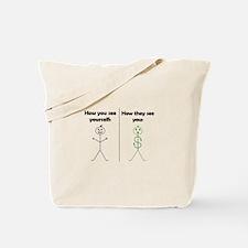 Walking Money Tote Bag