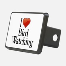 I Love Bird Watching Hitch Cover