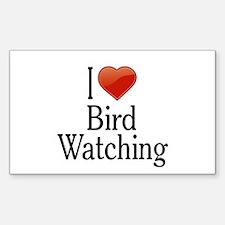 I Love Bird Watching Decal