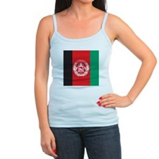 Afghanistan Flag Ladies Top