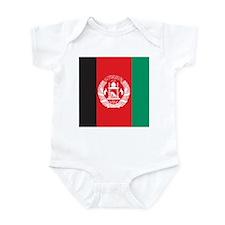 Afghanistan Flag Infant Bodysuit