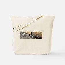 Yafo Street Cats 01 Tote Bag