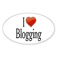 I Love Blogging Decal
