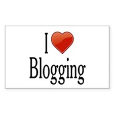 I Love Blogging Decal