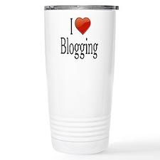 I Love Blogging Travel Mug