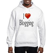 I Love Blogging Hoodie