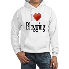 I Love Blogging Jumper Hoody
