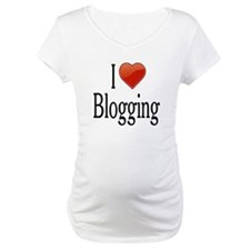 I Love Blogging Shirt