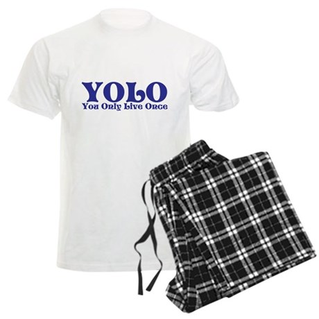 YOLO Men's Light Pajamas