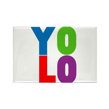 YOLO Rectangle Magnet (100 pack)